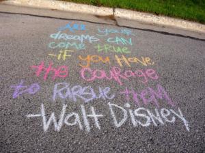 dreams - Walt Disney