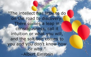 Einstein-quote-on-the-answers-coming-from-intuition
