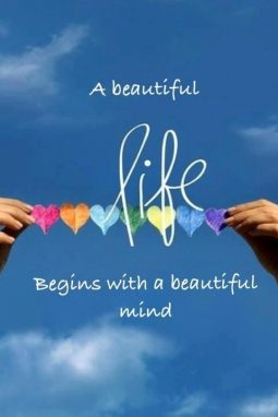 beautiful mind and life