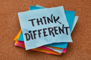 iStock_000015289929Small -Think Different Concept