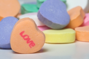 Conversation Hearts - Love